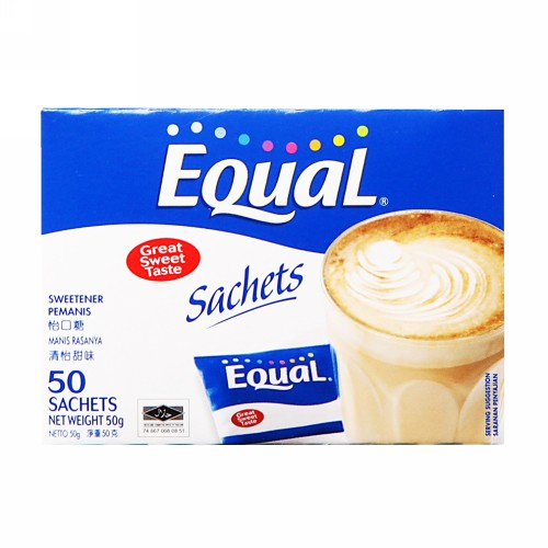 EQUAL SWEETENER BOX 25 SACHET