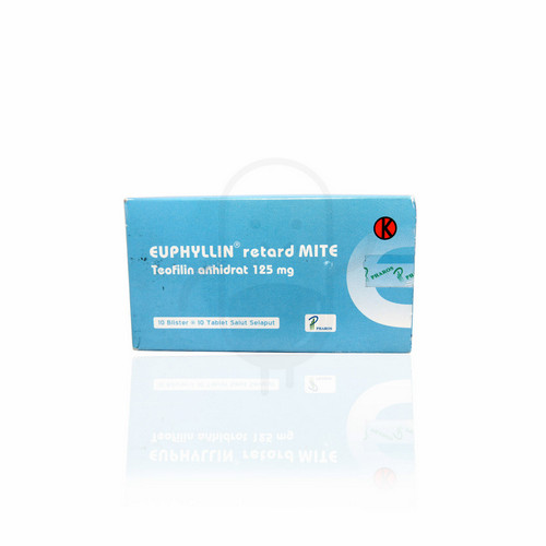 EUPHYLLIN RETARD MITE 125 MG TABLET BOX