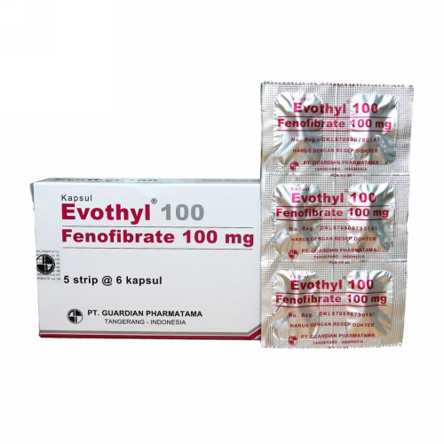 EVOTHYL 100 MG KAPSUL BOX