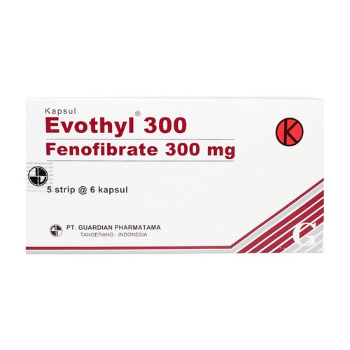 EVOTHYL 300 MG KAPSUL STRIP