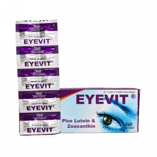 EYEVIT STRIP 10 TABLET