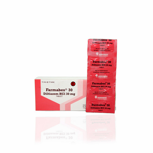 FARMABES 30 MG BOX 100 TABLET