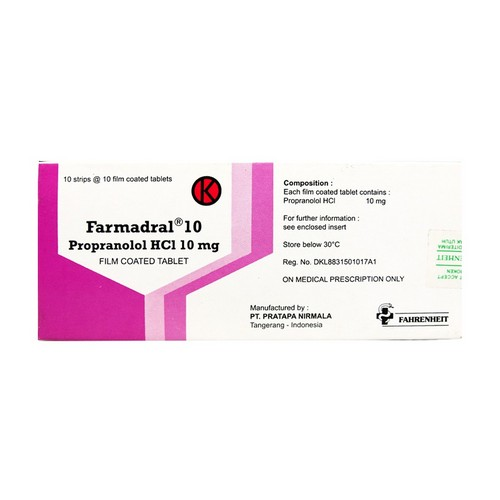 FARMADRAL 10 MG TABLET