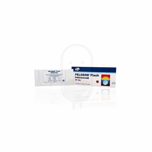 FELDENE FLASH 20 MG TABLET STRIP