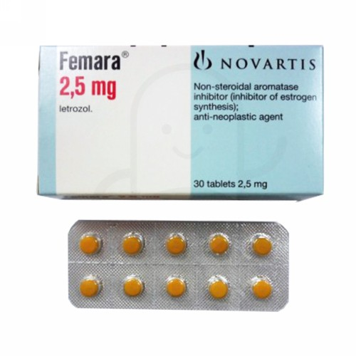FEMARA 2.5 MG BOX 30 TABLET