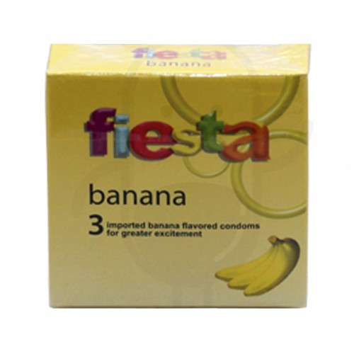 FIESTA KONDOM BANANA BOX 3 PCS