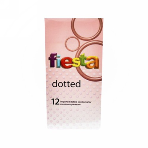 FIESTA KONDOM DOTTED BOX 12 PCS