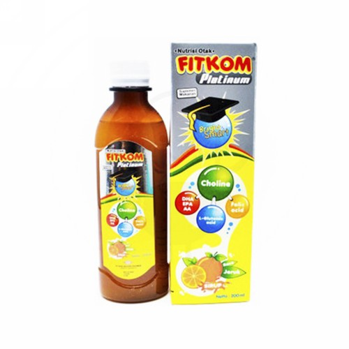 FITKOM PLATINUM RASA JERUK 100 ML