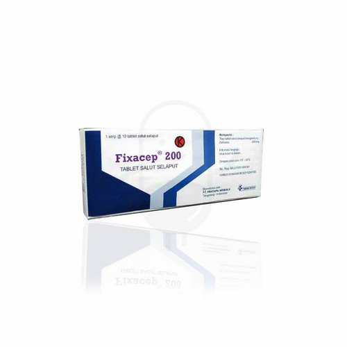 FIXACEP 200 MG TABLET