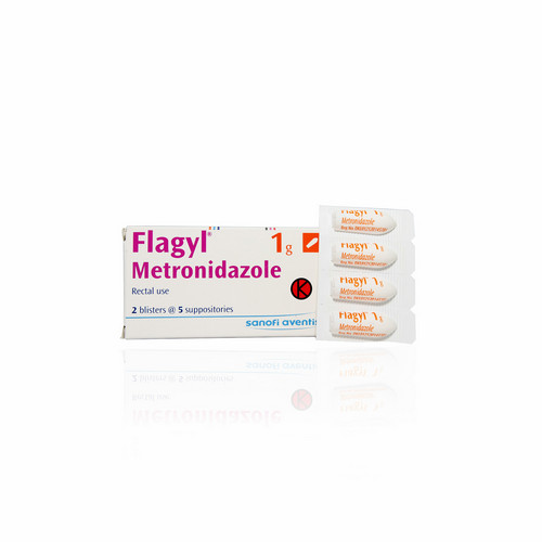 FLAGYL 1 GRAM SUPPOSITORIA STRIP