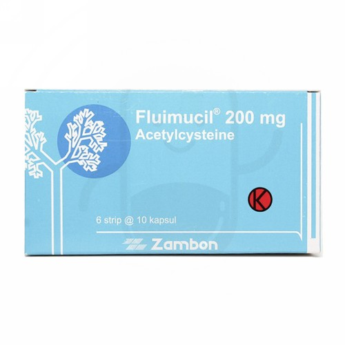 FLUIMUCIL 200 MG KAPSUL STRIP