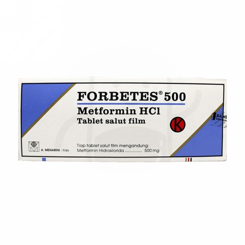 FORBETES 500 MG TABLET STRIP