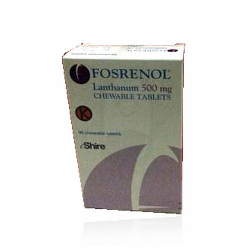 FOSRENOL 500 MG TABLET BOTOL