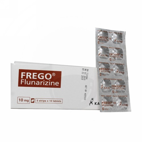 FREGO 10 MG TABLET BOX