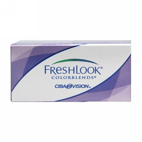 FRESHLOOK HEMA COLOR MONTHLY LENS COLORBLENDS (-5.00) STERLING GRAY