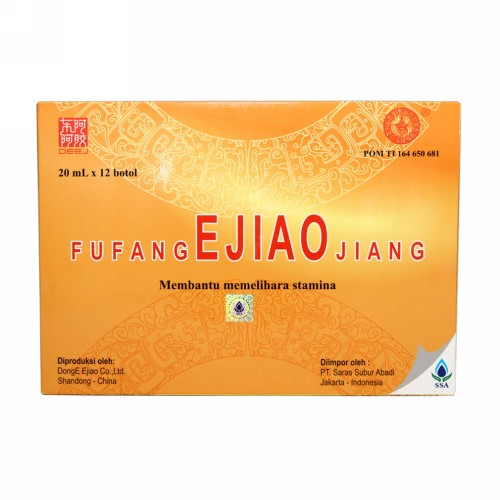 FU FANG E JIAO JIANG BOX 12 BOTOL 20 ML