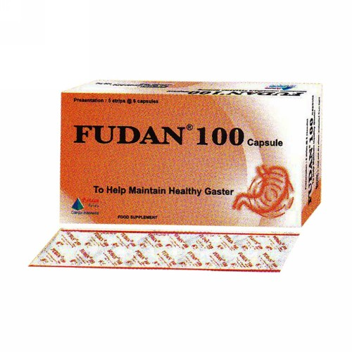 FUDAN 100 MG STRIP 6 KAPSUL