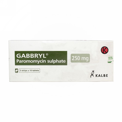 GABBRYL 250 MG TABLET STRIP