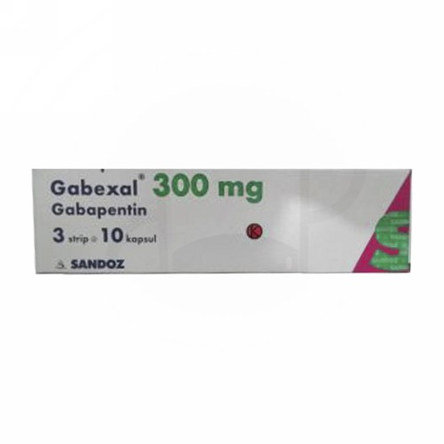 GABEXAL 300 MG KAPSUL STRIP
