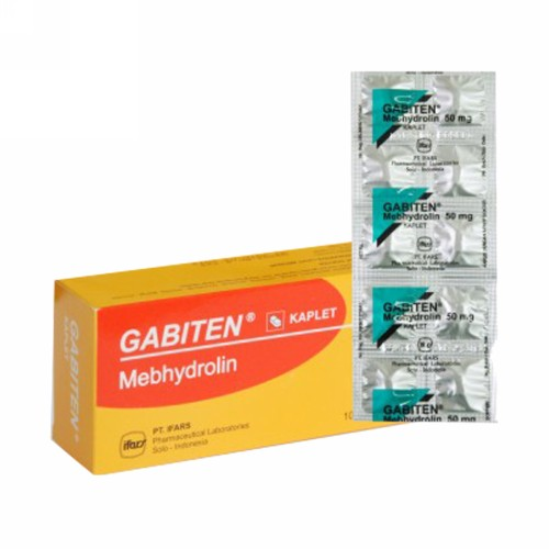 GABITEN 50 MG KAPLET STRIP