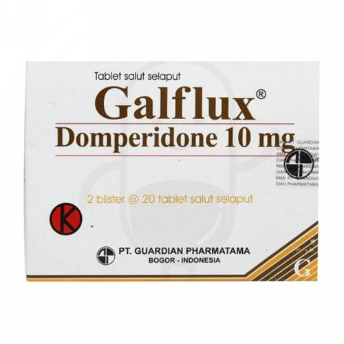 GALFLUX 10 MG BOX 40 TABLET