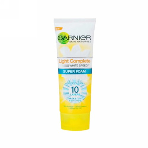 GARNIER LIGHT COMPLETE WHITE SPEED FOAM 100 ML TUBE