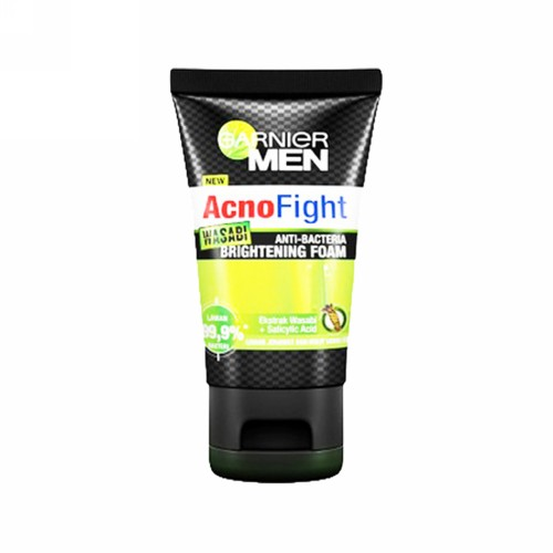 GARNIER MEN ACNO FIGHT WASABI FOAM 100 ML TUBE