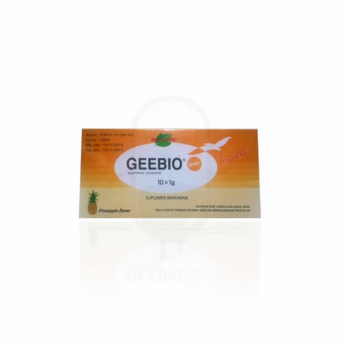 GEEBIO TROPICAL 1 GRAM SERBUK BOX 10 SACHET