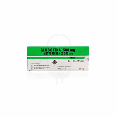 GLUCOTIKA 500 MG TABLET STRIP