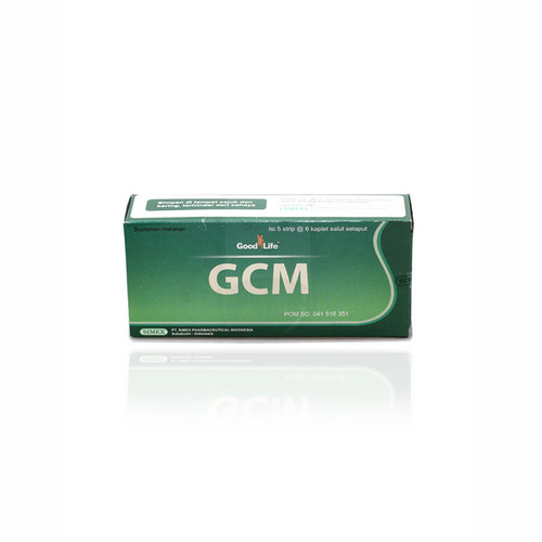 GOOD LIFE GCM BOX 30 KAPLET