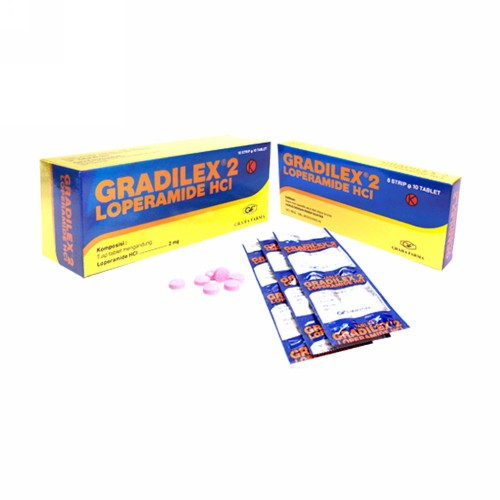 GRADILEX 2 MG STRIP 10 TABLET