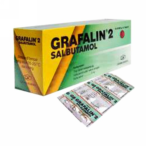 GRAFALIN 2 MG TABLET STRIP