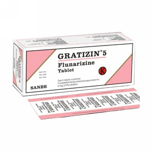 GRATIZIN 5 MG TABLET