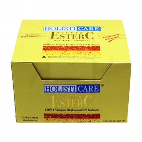 HOLISTICARE SUPER ESTER-C BOX 12 STRIP