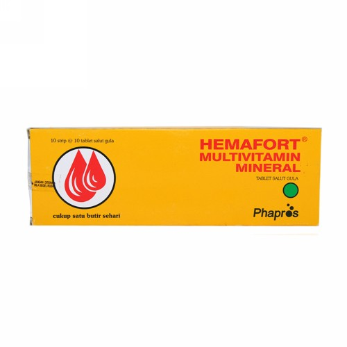 HEMAFORT BOX 100 TABLET
