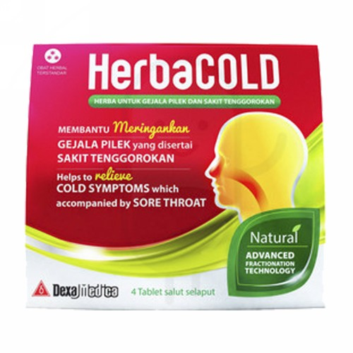 HERBACOLD STRIP 4 TABLET