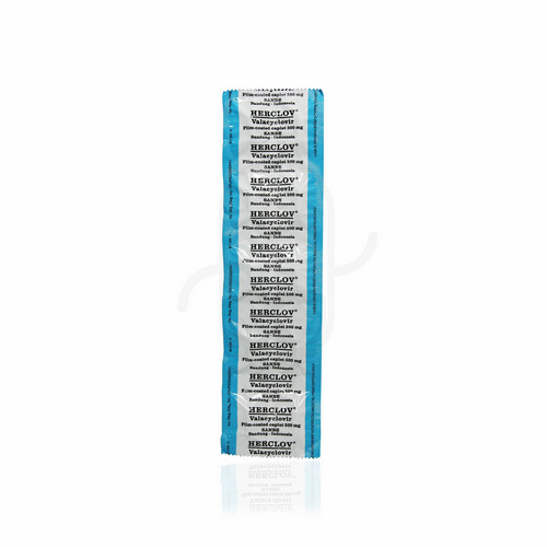 HERCLOV 500 MG KAPLET STRIP
