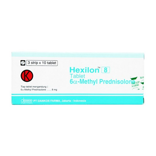 HEXILON 8 MG STRIP 10 TABLET