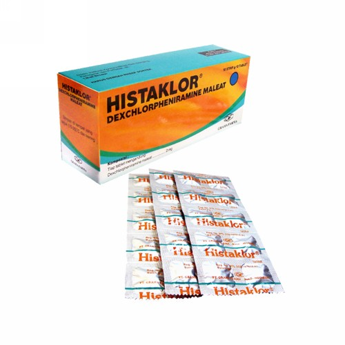 HISTAKLOR 2 MG BOX 100 TABLET