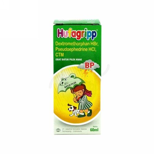 HUFAGRIP BP SIRUP 60 ML