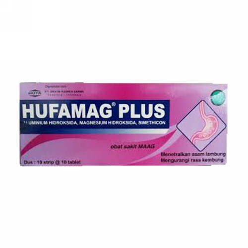 HUFAMAG PLUS STRIP 10 TABLET