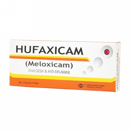 HUFAXICAM 7.5 MG STRIP 10 KAPLET