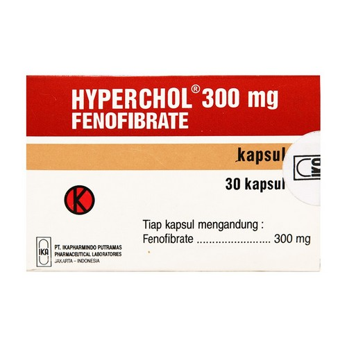 HYPERCHOL 300 MG KAPSUL STRIP