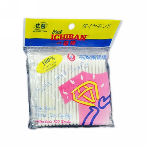ICHIBAN COTTON BUD FOR ADULT 100 PCS