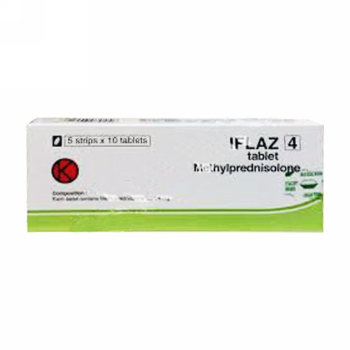 IFLAZ 4 MG TABLET BOX