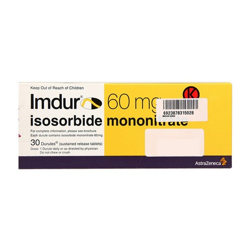 IMDUR 60 MG TABLET BOX