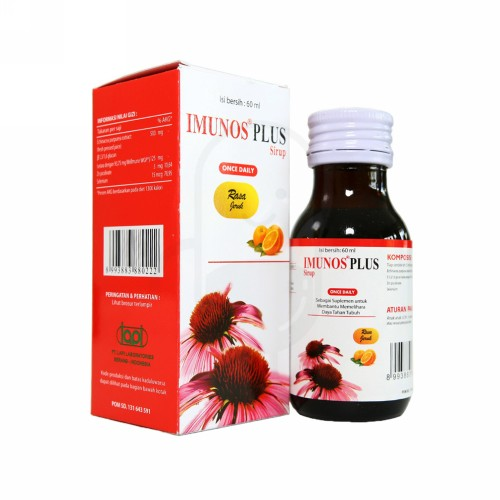 IMUNOS PLUS SIRUP 60 ML