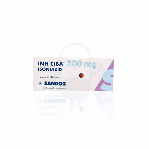 INH CIBA 300 MG TABLET BOX