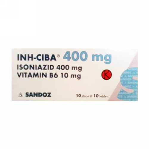 INH CIBA 400 MG TABLET