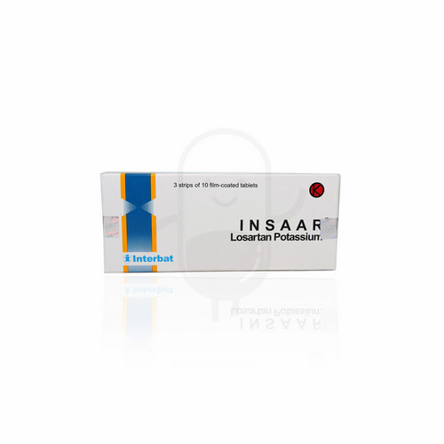 INSAAR 50 MG TABLET